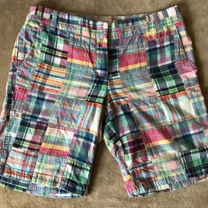J Crew Plaid Shorts Women's Size 6